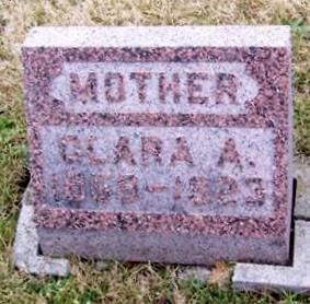 HOFFMAN, CLARA A. - Boone County, Iowa   CLARA A. HOFFMAN