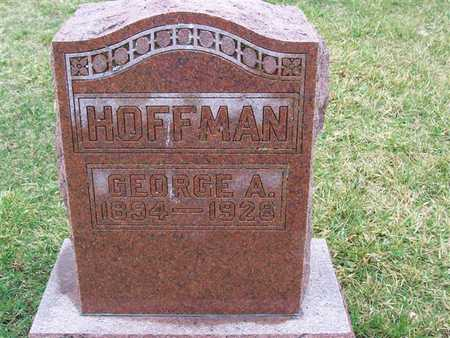 HOFFMAN, GEORGE A. - Boone County, Iowa | GEORGE A. HOFFMAN