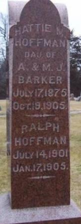 HOFFMAN, RALPH - Boone County, Iowa | RALPH HOFFMAN