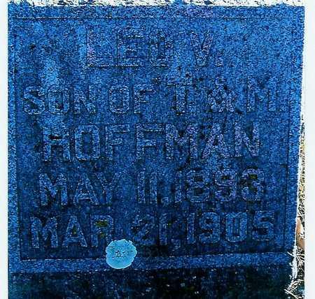 HOFFMAN, LEO V. - Boone County, Iowa | LEO V. HOFFMAN