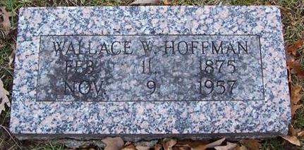 HOFFMAN, WALLACE W. - Boone County, Iowa | WALLACE W. HOFFMAN