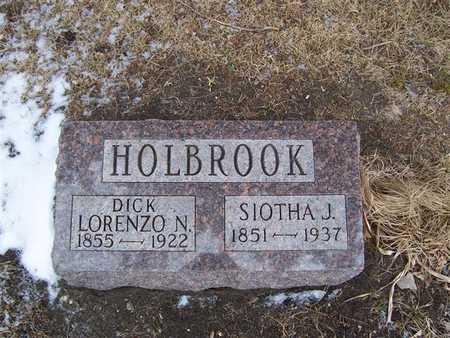 HOLBROOK, DICK LORENZO N. - Boone County, Iowa | DICK LORENZO N. HOLBROOK