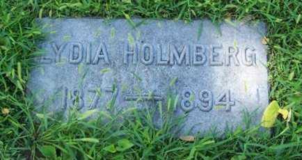 HOLMBERG, LYDIA - Boone County, Iowa | LYDIA HOLMBERG