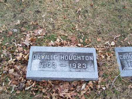 HOUGHTON, ORVILLE - Boone County, Iowa   ORVILLE HOUGHTON