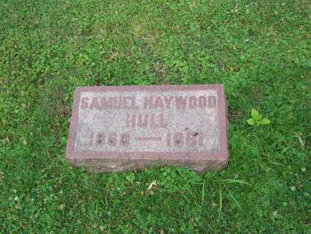 HULL, SAMUEL HAYWOOD - Boone County, Iowa | SAMUEL HAYWOOD HULL