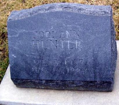 HUNTER, JODI ANN - Boone County, Iowa   JODI ANN HUNTER