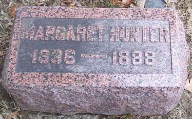 HUNTER, MARGARET - Boone County, Iowa | MARGARET HUNTER