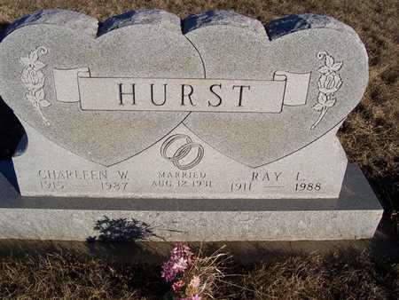 HURST, RAY L - Boone County, Iowa | RAY L HURST
