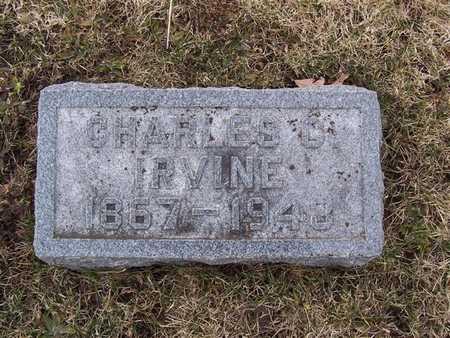 IRVINE, CHARLES D. - Boone County, Iowa   CHARLES D. IRVINE