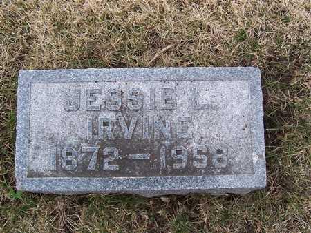 IRVINE, JESSIE L - Boone County, Iowa | JESSIE L IRVINE