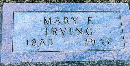 IRVING, MARY E. - Boone County, Iowa | MARY E. IRVING
