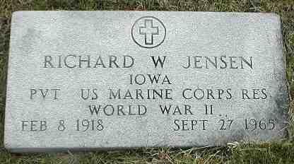 JENSEN, RICHARD W. - Boone County, Iowa | RICHARD W. JENSEN