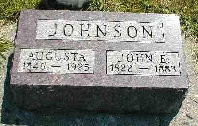 JOHNSON, JOHN E. - Boone County, Iowa | JOHN E. JOHNSON