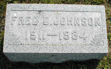 JOHNSON, FRED D. - Boone County, Iowa | FRED D. JOHNSON
