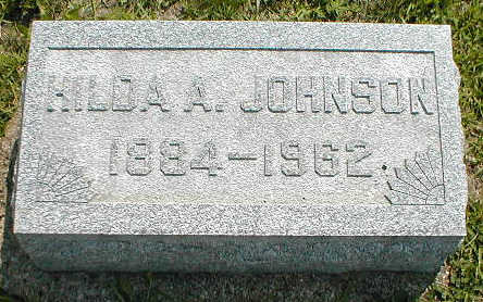 JOHNSON, HILDA A, - Boone County, Iowa | HILDA A, JOHNSON