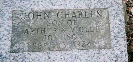 JOHNSON, JOHN CHARLES - Boone County, Iowa   JOHN CHARLES JOHNSON