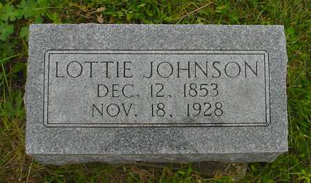 JOHNSON, LOTTIE - Boone County, Iowa | LOTTIE JOHNSON