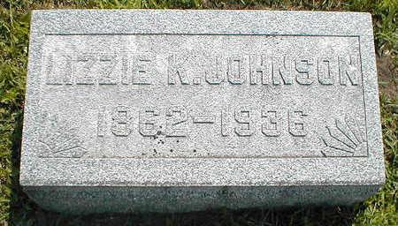 JOHNSON, LIZZIE K. - Boone County, Iowa | LIZZIE K. JOHNSON