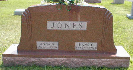JONES, ANNA W. - Boone County, Iowa | ANNA W. JONES