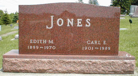 JONES, CARL E. - Boone County, Iowa   CARL E. JONES