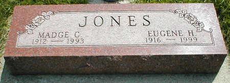JONES, MADGE C. - Boone County, Iowa   MADGE C. JONES