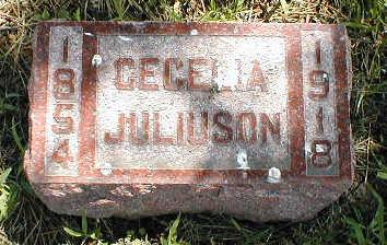 JULIUSON, CECELIA - Boone County, Iowa | CECELIA JULIUSON