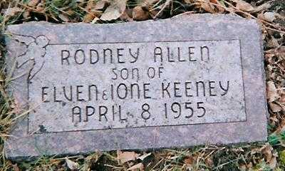 KEENEY, RODNEY ALLEN - Boone County, Iowa | RODNEY ALLEN KEENEY