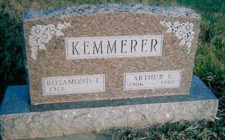 KEMMERER, ARTHUR E. - Boone County, Iowa | ARTHUR E. KEMMERER