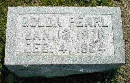 KENDALL, GOLDA PEARL - Boone County, Iowa | GOLDA PEARL KENDALL
