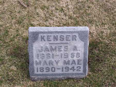 KENSER, JAMES A. - Boone County, Iowa | JAMES A. KENSER