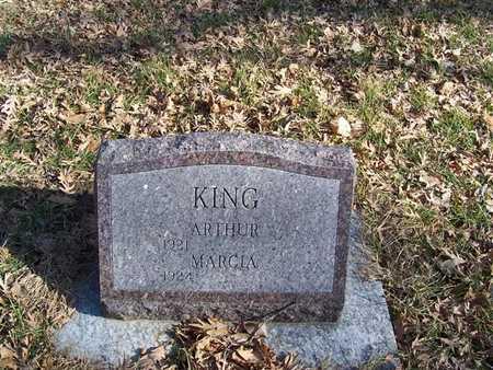 KING, ARTHUR - Boone County, Iowa | ARTHUR KING