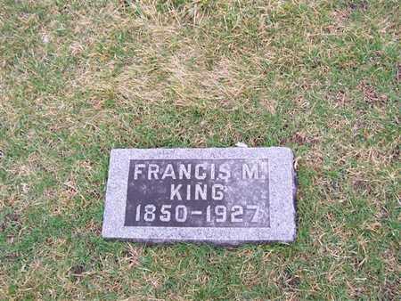 KING, FRANCIS M. - Boone County, Iowa | FRANCIS M. KING