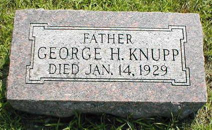 KNUPP, GEORGE H. - Boone County, Iowa | GEORGE H. KNUPP