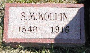 KOLLIN, S.M. - Boone County, Iowa | S.M. KOLLIN