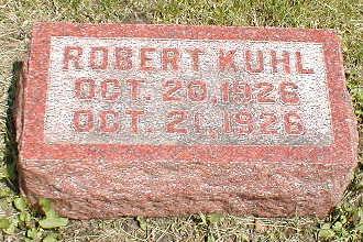 KUHL, ROBERT - Boone County, Iowa | ROBERT KUHL