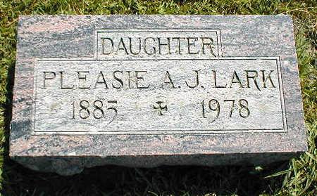 LARK, PLEASIE A.J. - Boone County, Iowa | PLEASIE A.J. LARK