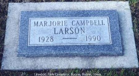 LARSON, MARJORIE (CAMPBELL) - Boone County, Iowa | MARJORIE (CAMPBELL) LARSON