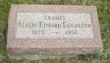 LEICHLITER, ALBERT EDWARD - Boone County, Iowa | ALBERT EDWARD LEICHLITER