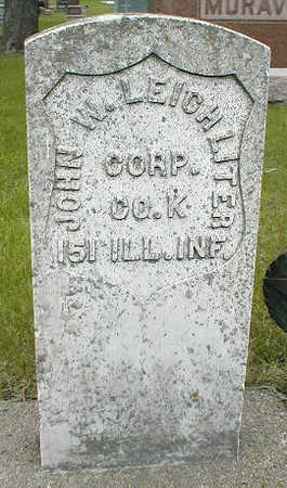 LEICHLITER, JOHN W. - Boone County, Iowa | JOHN W. LEICHLITER