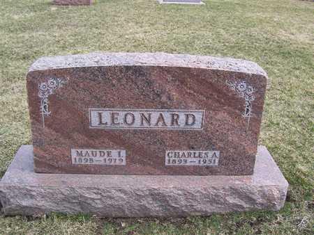 LEONARD, MAUDE L. - Boone County, Iowa | MAUDE L. LEONARD