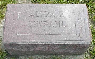 LINDAHL, ALIDA F. - Boone County, Iowa | ALIDA F. LINDAHL