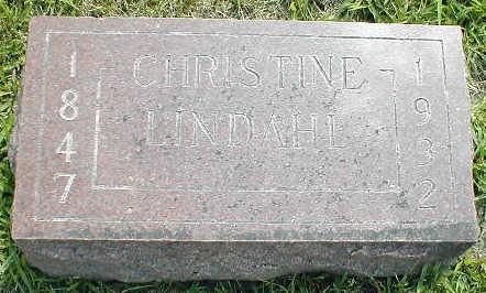 LINDAHL, CHRISTINE - Boone County, Iowa | CHRISTINE LINDAHL