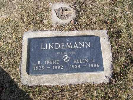 LINDEMANN, R. IRENE - Boone County, Iowa   R. IRENE LINDEMANN
