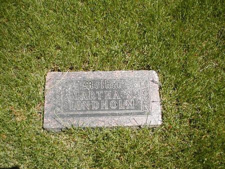 LINDHOLM, MARTHA S. - Boone County, Iowa   MARTHA S. LINDHOLM