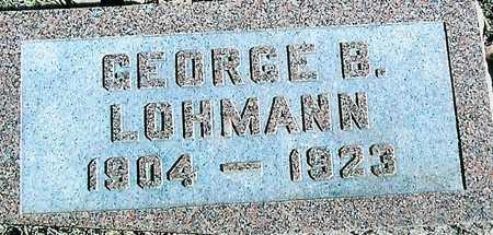 LOHMANN, GEORGE B. - Boone County, Iowa | GEORGE B. LOHMANN