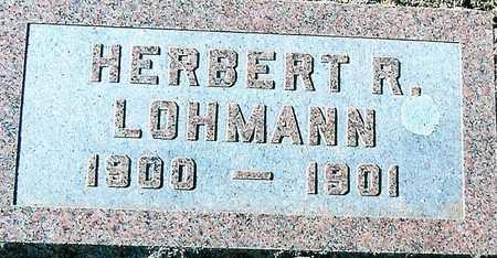 LOHMANN, HERBERT R. - Boone County, Iowa | HERBERT R. LOHMANN