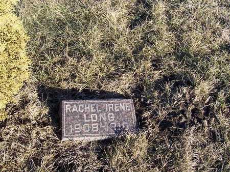 LONG, RACHEL IRENE - Boone County, Iowa | RACHEL IRENE LONG