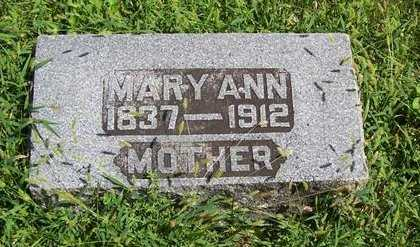 LONGMAN, MARY ANN - Boone County, Iowa | MARY ANN LONGMAN