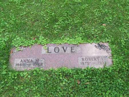LOVE, ANNA M. - Boone County, Iowa | ANNA M. LOVE