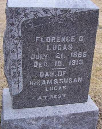 LUCAS, FLORENCE G. - Boone County, Iowa | FLORENCE G. LUCAS